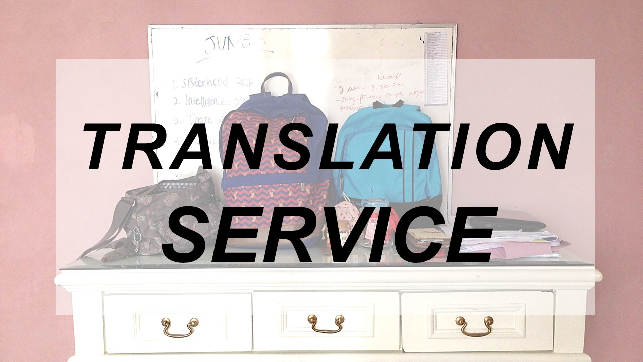 Open Translation Service!